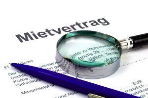 Die gesetzliche Kündigungsfrist für Mieter beträgt drei Monate.